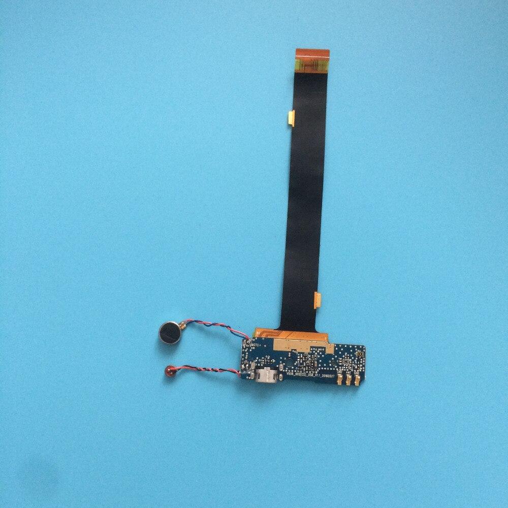 Usato usb carica spina bordo + motore di vibrazione + fpc per Vkworld T1 Più 6.0 Pollice MT6735 Quad Core 1280x720 Spedizione gratuita