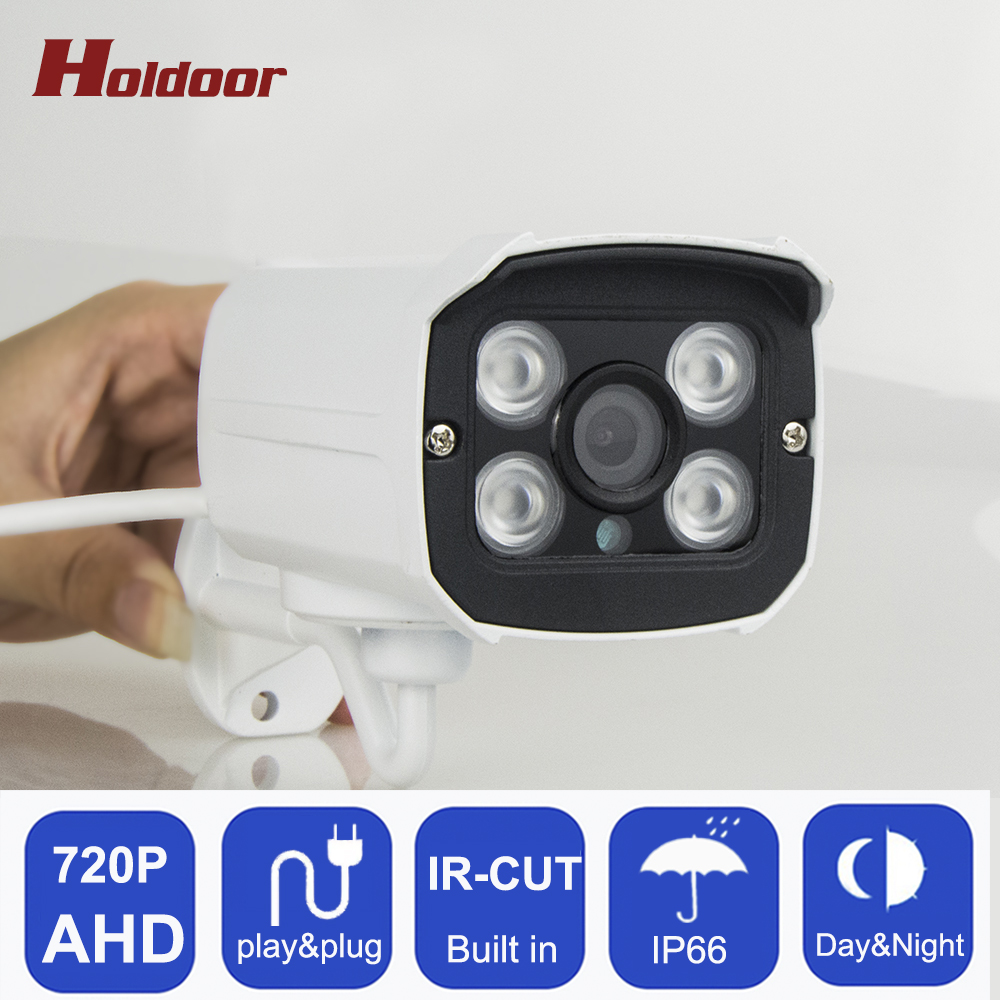 CCTV Camera IR Cut Filter AHD 720P Surveillance Camera 1MP HD Outdoor Waterproof Night Vision Bullet Security Surveillance Cam hd 1mp ahd security cctv camera 720p indoor dome ir cut 48leds night vision ir color 1080p lens