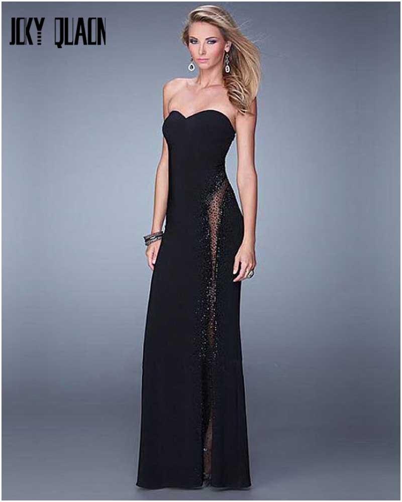 Online Get Cheap Simple Black Strapless Dress -Aliexpress.com ...