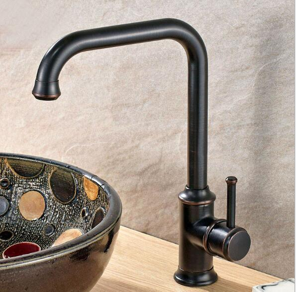 Free Shipping kitchen faucet black 360 degree swivel kitchen sink Faucet Mixer kitchen vanity faucet luxury water tap new design pull out kitchen faucet chrome 360 degree swivel kitchen sink faucet mixer tap kitchen faucet vanity faucet cozinha