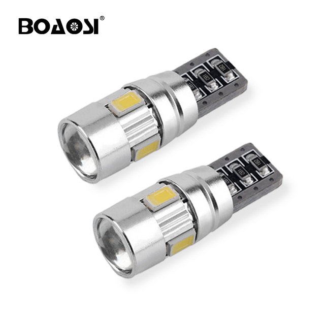 2pcs t10 6smd led bulbs 194 168 5630 smd w5w canbus for car interior rh aliexpress com car interior map reading lights LED Map Light