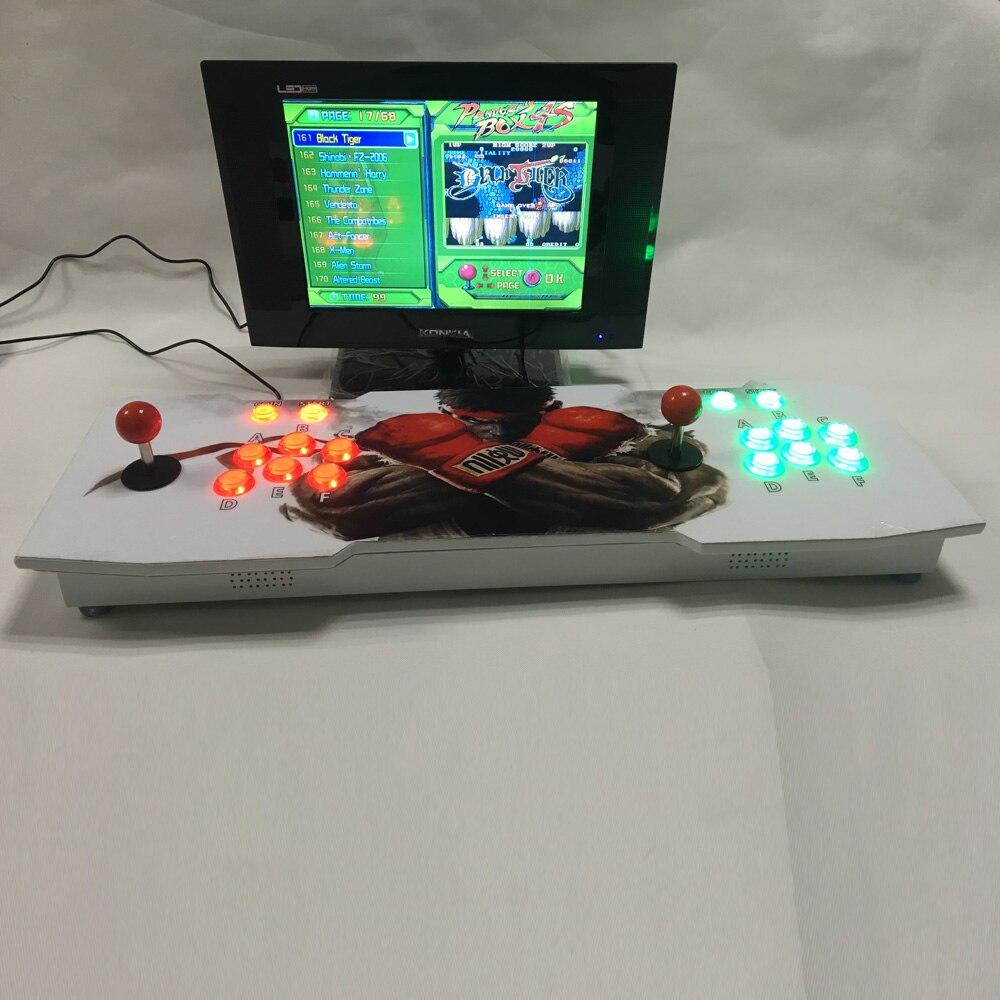 2017 Pandora Box 4S Arcade Stick Controller Arcade joystick console  680 in1 game board VGA and HDMI Output
