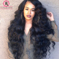 250% High Density Full Lace Human Hair Wigs Brazilian Virgin Body Wave Lace Front Human Hair Wigs For Black Women Lace Front Wig