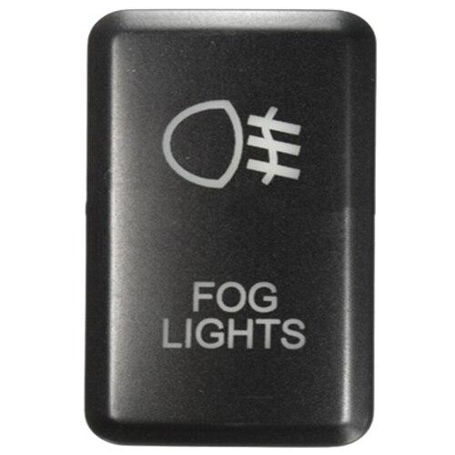 Intelligent Dsha Hot Sale 12v Led Fog Work Light Push Button Switch For Toyota Landcruiser Prado Fj Fog Light Green Switches
