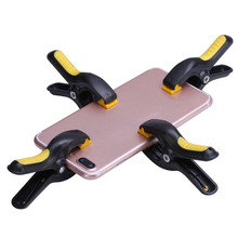4pcs/lot Plastic Clip Fixture LCD Screen Fastening Clamp For Iphone iPad Tablet Mobile Phone Repair Tool Kit Outillage