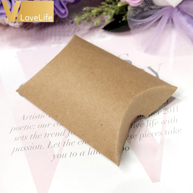 wedding x box boxes favour pillow diamante