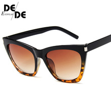 2019 Fashion Cute Sexy Retro Cat Eye Sunglasses Women Vintage Brand Designer Cateye Sun Glasses For Female Ladies UV400 цена