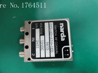 [SA] Narda 025 AO A1H 1C0 DC 18GHZ SPDT RF коаксиальный переключатель 15 В