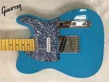 все цены на Electric guitar/Gwarem luck star tele guitar/sky blue color/guitar in china онлайн