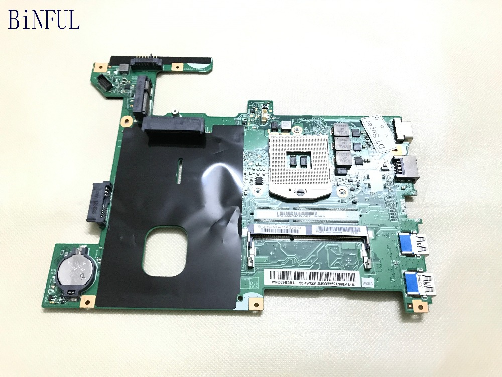BiNFUL Super  48.4WQ02.011  Replacement  Laptop Motherbord FOR Lenovo G480  NOTEBOOK PC HM70 CHIPSET. COMPARE BEFORE ORDER