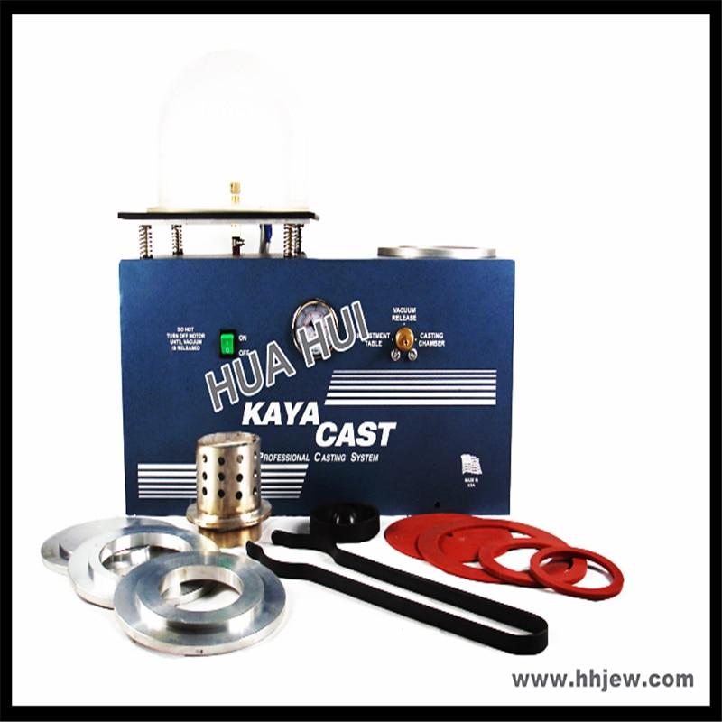 KAYA Mini Vacuum Investing & Casting Machine with Pump, Jewelry Wax Making Tools Machine & Equipment