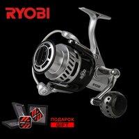 RYOBI TT. Мощность 4000 6000 8000 5,0: 1 7BB 100% оригинальный металлический морской супер Мощность 10 кг длительных морских катушки для спиннинга