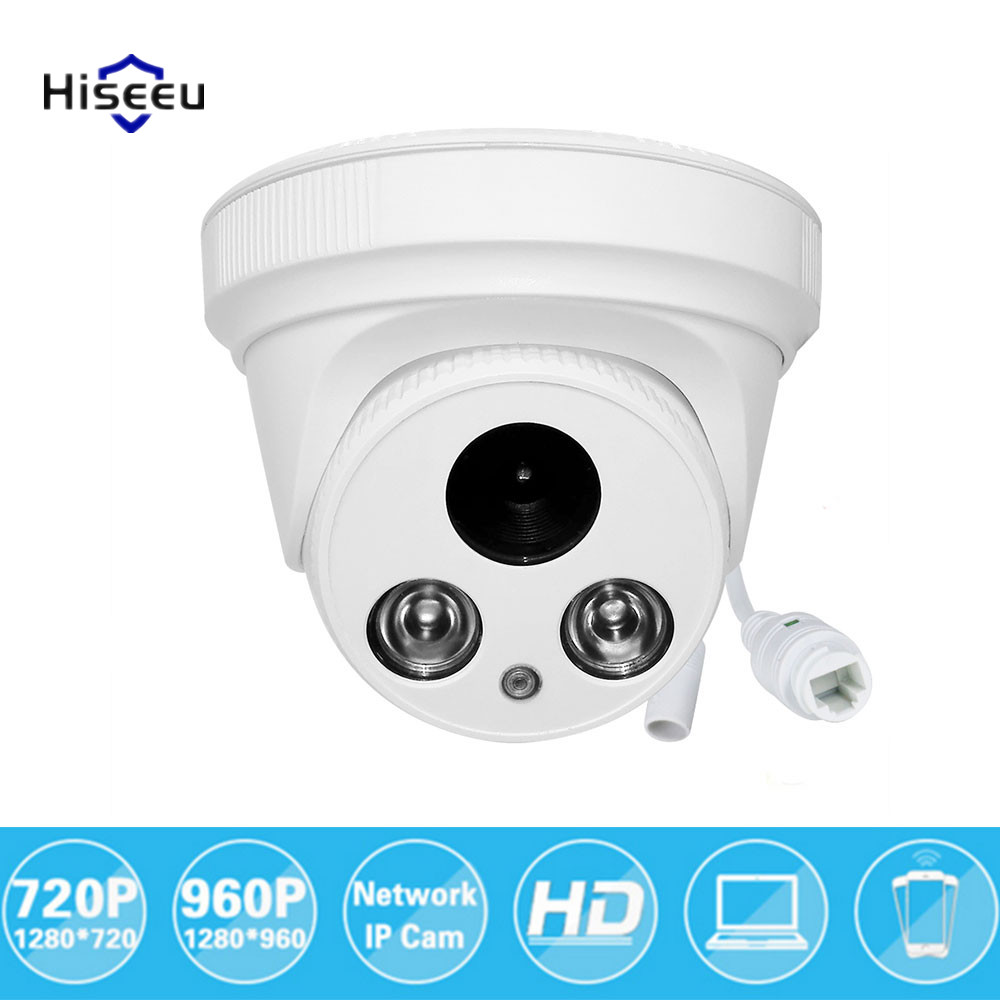 960P 1.3MP CCTV IP Network Camera Family Mini Dome Security Cameras ONVIF indoor IR CUT Night Vision P2P Remote HCR6 New 35 1080p 2 0mp 960p 1 3mp 720p 1 0mp 4led ir dome ip camera indoor cctv camera onvif night vision p2p ip security cam ir cut 2 8mm