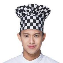 Baru Kedatangan Hotel Pelayan Topi Memasak BBQ Jamur Topi Topi Koki  Restoran Koki Dapur Workwear Topi 3e40eed3b9
