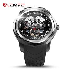 LEMFO 512 MB + 4 GB Eletrônico Relógio Inteligente Com SIM/Slot Para Cartão TF Android 5.1 Bluetooth Sports relógio de Pulso Smartwatch Para Moda Homem/Mulher