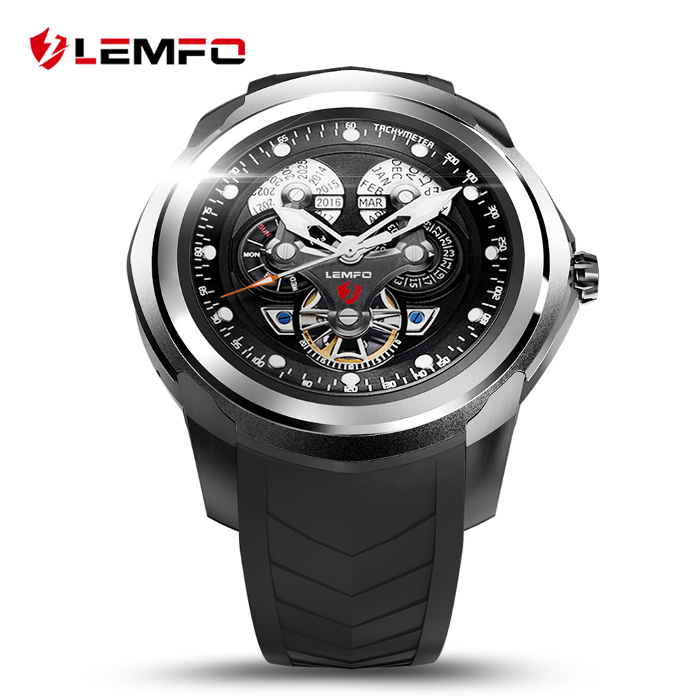 Original LEMFO Smart Watch 512MB 4GB with SIM/TF Card Slot Android 5.1 Bluetooth Wrist Smartwatch Men Wristwatch for Phone new arrive gt08 smart watch bluetooth sim card slot push message bluetooth connectivity nfc for iphone android phoones