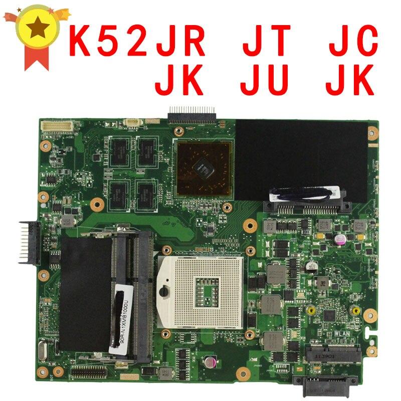 K52JC K52JR Laptop Motherboard Mainboard for ASUS K52JR,K52JT,K52J,K52JC,A52J,X52JC with GeForce 310M 1GB DDR3  for asus k52jb a52j k52jr k52je k52j 4 pcs on storage laptop motherboard rev2 3 mainboard free shipping