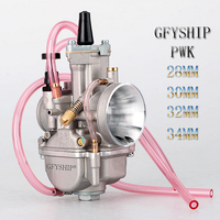 28MM 30MM 32MM 34MM universal Racing 2T 4T engine pwk Carburetor For Keihin Koso OKO Power Jet UTV ATV Motorcycle carburador
