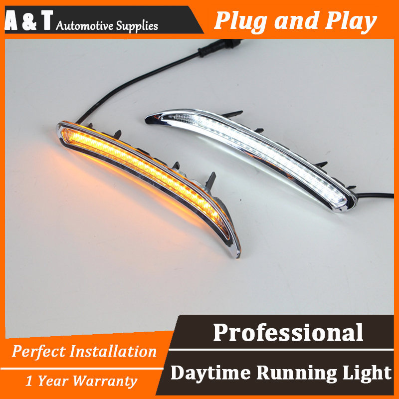 car styling For Buick regal GS 2012,2013 led daytime running light High brightness guide LED DRL For A style auto clud car styling for buick regal gs led drl for regal gs led daytime running light high brightness guide led drl b style