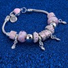ZOSHI Pink Crystal Charm Silver Bracelets & Bangles for Women With Aliexpress Murano Beads Silver Bracelet Femme Jewelry 9