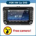 """Bosion Новый 7 """" 2 din автомобильный DVD GPS стерео парковка для VW гольф 4 гольф 5 6 поло PASSATCC JETTA TIGUAN TOURAN EOS SHARAN SCIROCCO T5 кэдди HD"""