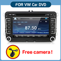 "New 7"" 2din Car DVD GPS Stereo parking for VW GOLF 4 GOLF 5 6 POLO PASSATCC JETTA TIGUAN TOURAN EOS SHARAN SCIROCCO T5 CADDY HD"