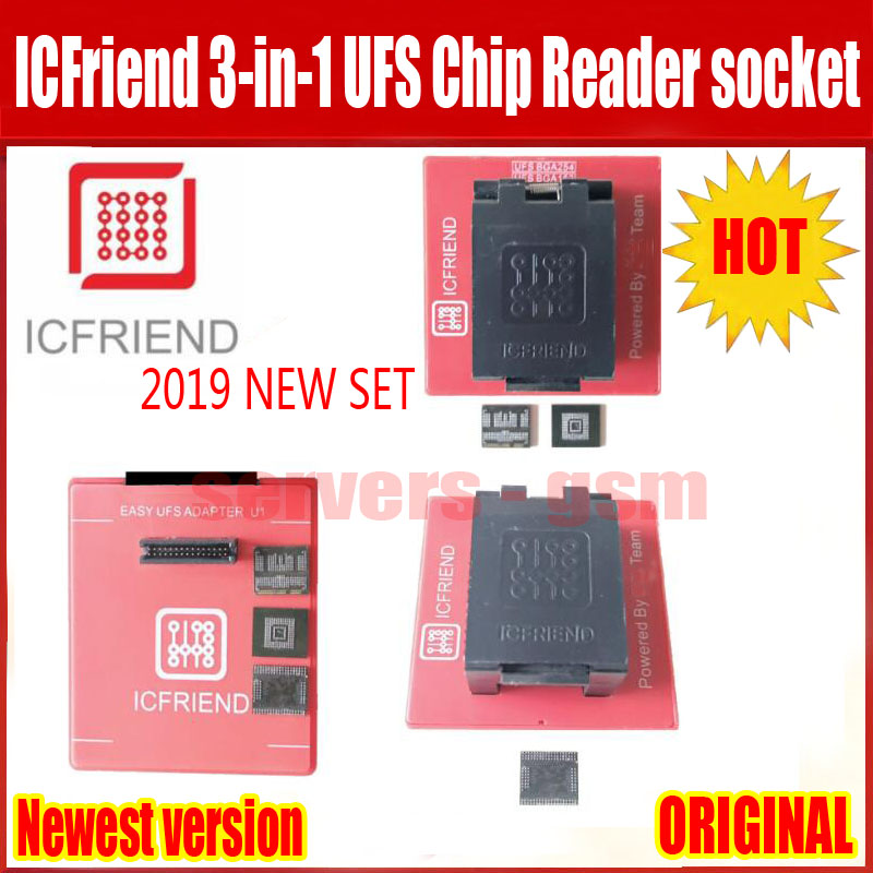 2019 NEW ORIGINAL UFS adapters socket ICFriend ICs-UFS 3 IN 1 support UFS BGA254 BGA153 BGA9 with EASY JTAG PLUS Box work2019 NEW ORIGINAL UFS adapters socket ICFriend ICs-UFS 3 IN 1 support UFS BGA254 BGA153 BGA9 with EASY JTAG PLUS Box work