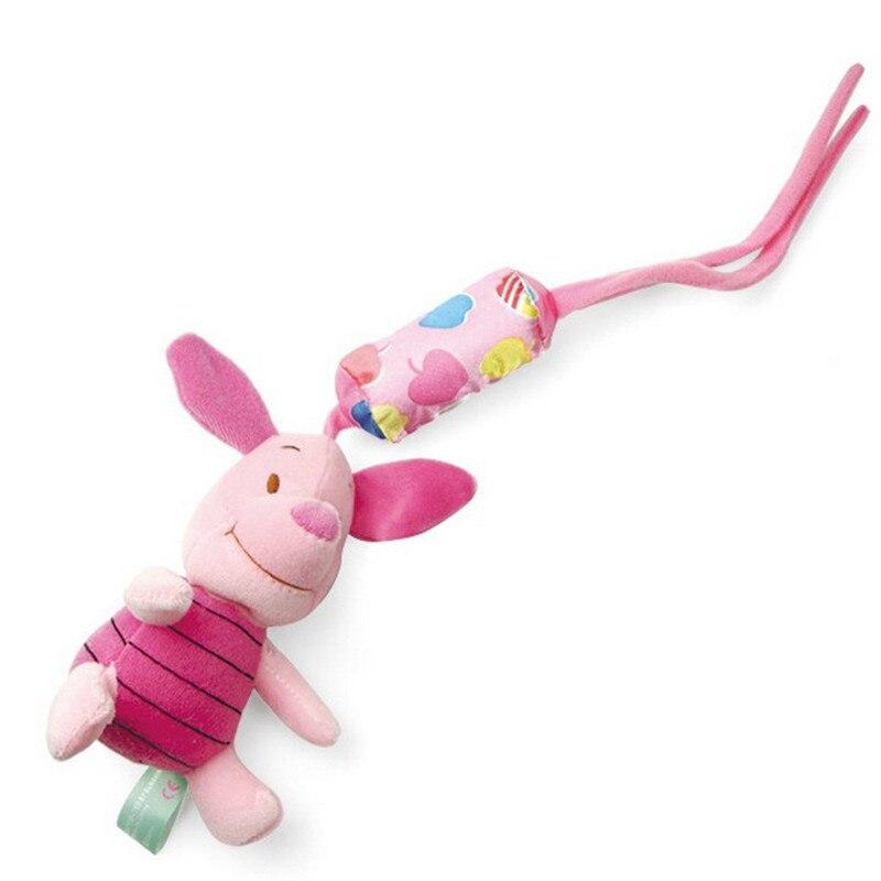 1 pcs Baby Rammelaars Pasgeboren speelgoed kinderwagen speelgoed Winnie cartoon baby bed rammelaar bebe baby pluche speelgoed 4