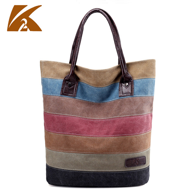 d8f1fa6c3 Praia sacola de compras saco de lona patchwork bolsa coréia do negócio saco bolsas  femininas grande