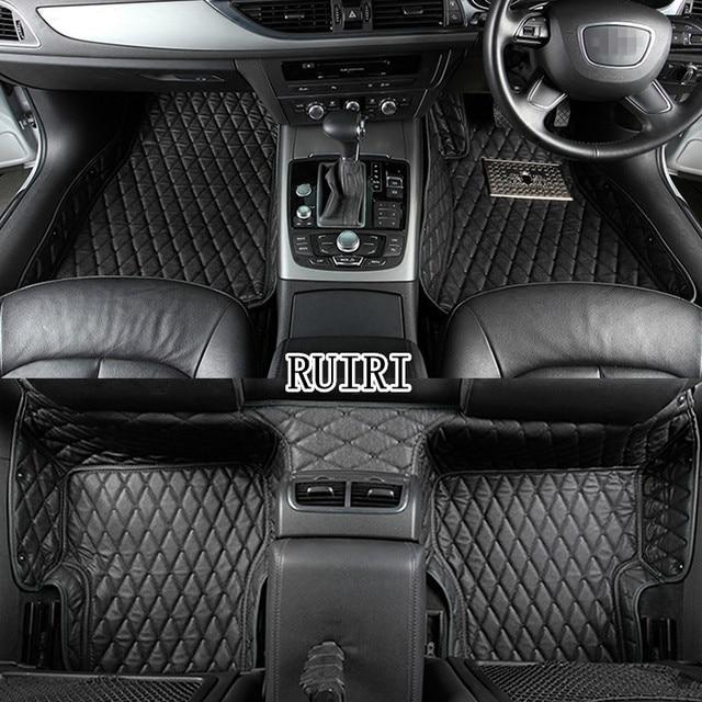 ¡Buena calidad! Alfombrillas de suelo de coche especiales personalizadas para la mano derecha Ford Ranger 2017-2010 alfombras resistentes al agua, Envío Gratis