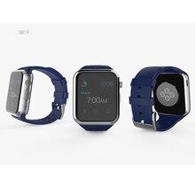 Sport Portable Dispositifs GD19 Bluetooth Montre Smart Watch Android Connecté Horloge Montre-Bracelet Support Carte SIM Téléphone Smartwatch PK GT08