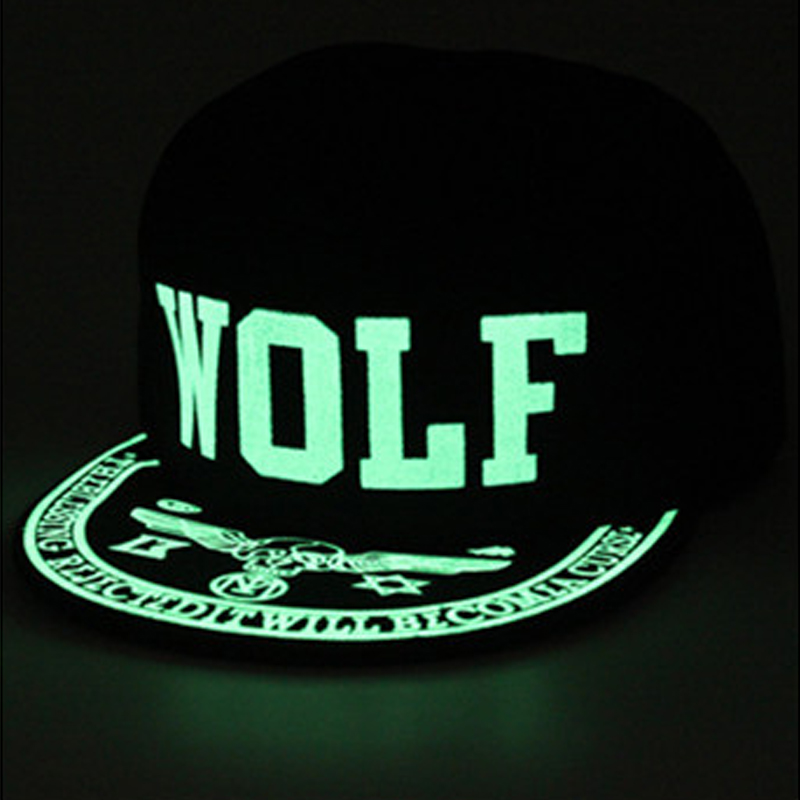Graffiti Baseball Cap Hip Hop Fluorescent Light Snapback Caps Men Casquette Women Girl Noctilucence Hats Boy Luminous Hat 2017 wholesale women men fashion snapback cap hat new design custom novelty sport baseball cap girl boy hip hop camouflage visor hats