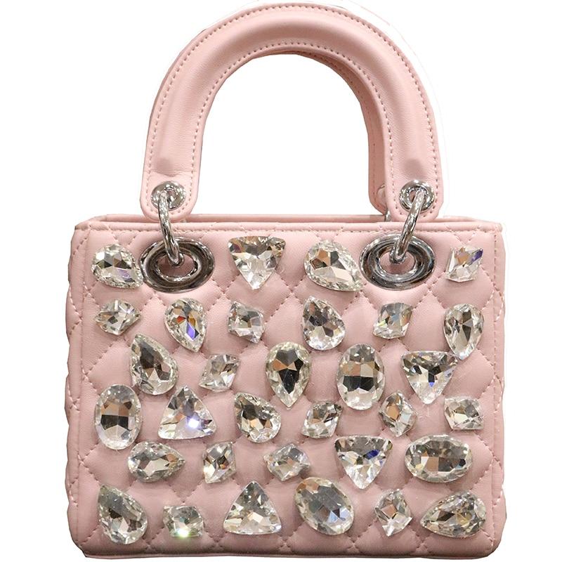 Luxury Diamond Design Women Handbag New Fashion Messenger Bag Brand Style PU Leather Bags Female Shoulder Bag for kawasaki er 6n 2009 2014 ninja 650r 400r 2010 2014 motorcycle accessories balance shock front fork brace titanium