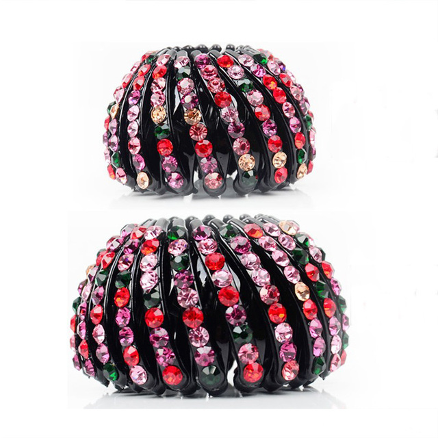 1pc New Fashion Hair Clips Meatball