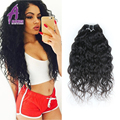 Mink Alimice Brazilian Virgin Hair Water Wave Unprocessed Wet and Wavy Virgin Brazilian Hair 3 Bundles Curly Weave Human Hair