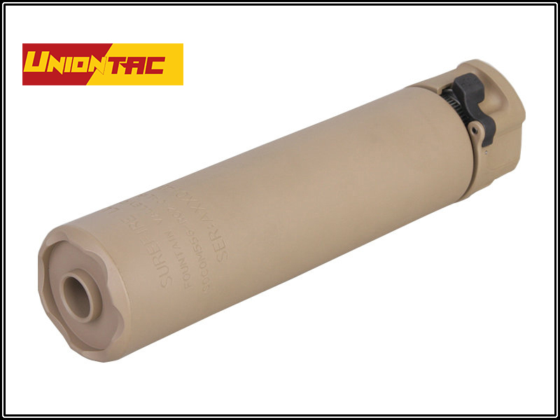 UNIONTAC 556 Series Airsoft Silencer 14mm Counter Clockwise