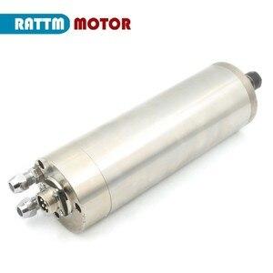 Image 5 - DE Free VAT 800W 0.8kw ER11 wodoodporny silnik wrzeciona 4 łożysko 220V wrzeciono chłodzone wodą CNC wysoki moment obrotowy wysoka precyzja