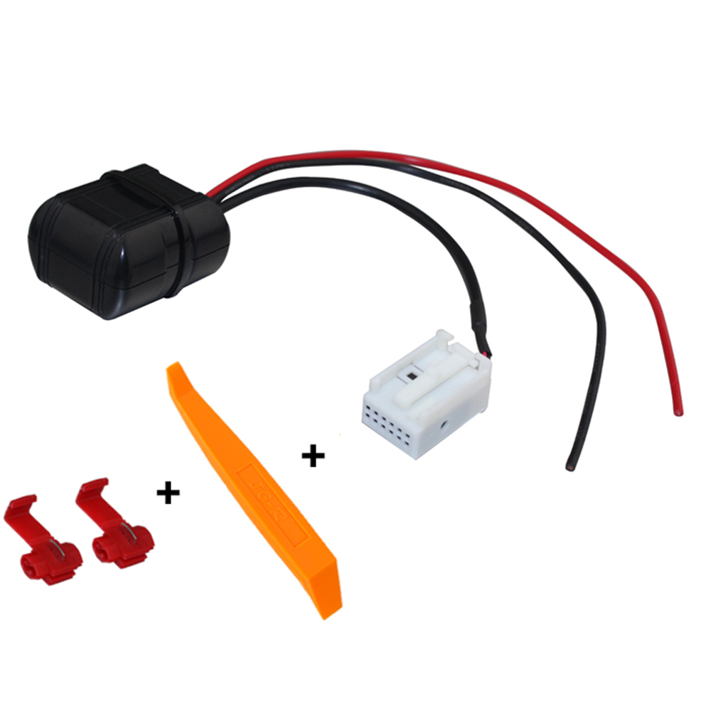 US $24 56 37% OFF|Lonleap Car Bluetooth Module for BMW E60 Radio Stereo Aux  Cable Adapter with Filter Wireless Audio Input-in Cables, Adapters &
