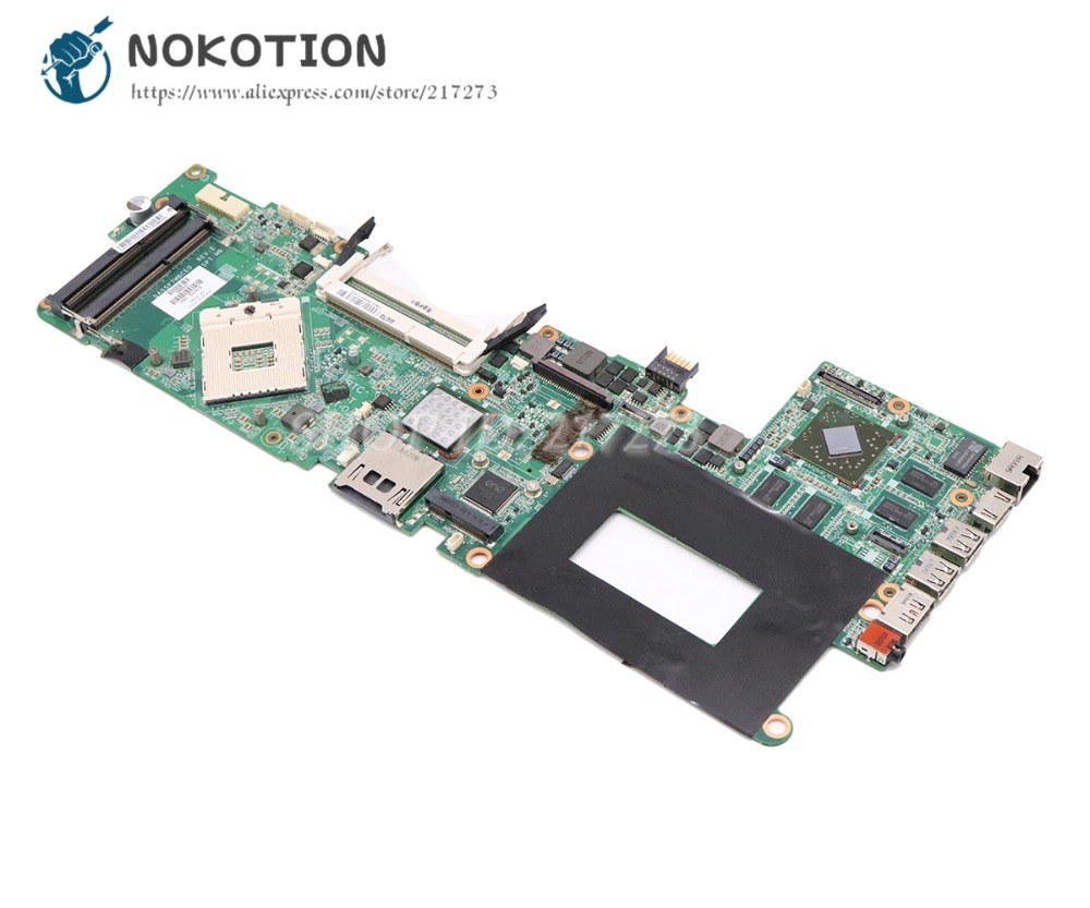 NOKOTION For HP ENVY 15 Laptop Motherboard PM55 DDR3 576772-001 DA0SP7MBCE0 Main Board 1GB GPU