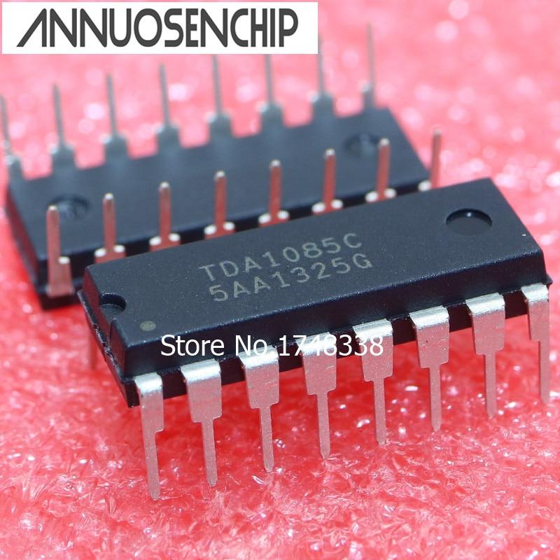 5PCS TDA1085C DIP-16 NEW ORIGNAL TDA1085 TDA1085CG tl598cn dip 16