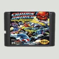 Captain America And The Avengers - Sega Mega Drive For Genesis