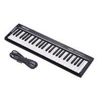 WORLDE KS49C 49-Key USB MIDIแป้นพิมพ์ควบคุมด้วย6.35มิลลิเมตรเหยียบแจ็คMIDIออกจัดส่งฟรี