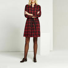1b6c2cd133217 Buy claret full sleeve dress and get free shipping on AliExpress.com