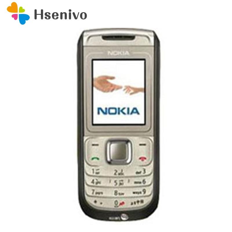 1681 Refurbished Original Unlocked Nokia 1681c mobile phone one year warranty free shipping