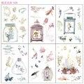 6 листов/уп Kawaii платье феи для девочек декоративные наклейки из бумаги васи Скрапбукинг ярлыком канцелярские наклейки для дневника, альбома