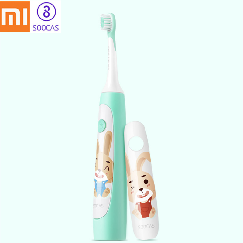 Xiaomi SOOCAS C1 Cute Waterproof Sonic Electric <font><b>Toothbrush</b></font> For <font><b>Kids</b></font> Rechargeable Ultrasonic <font><b>Toothbrush</b></font> Dental Care Tooth Brush image