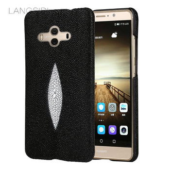 wangcangli brand mobile phone case pearl fish half a pack of mobile phone case For Huawei Mate 10 phone case  custom processing