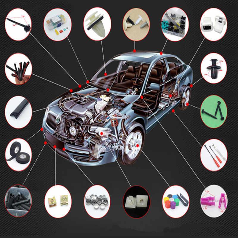 100Pcs Mobil Universal Campuran Klip untuk Opel Astra H G Corsa Insignia Astra Antara Meriva Zafira Mobil Styling