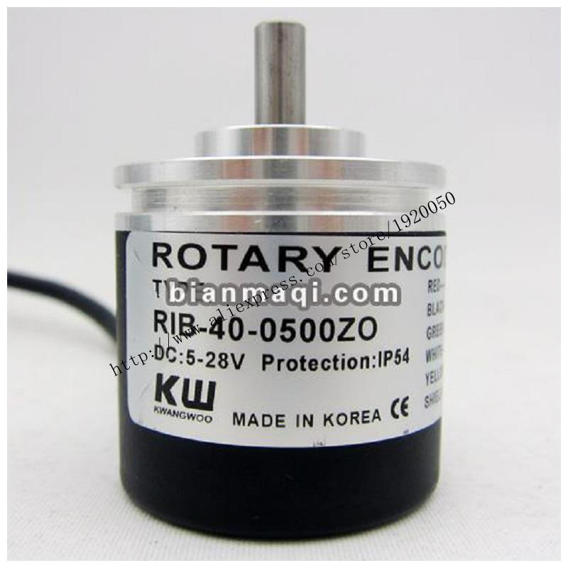 Supply of  RIB-40-0500ZO KWANOO Guangyu rotary encoder / shaft diameter 6mm / 500