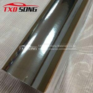 Image 2 - 50CM*1M/2M/3M/4M/5M High stretchable mirror silver Chrome Mirror flexible Vinyl Wrap Sheet Roll Film Car Sticker Decal Sheet